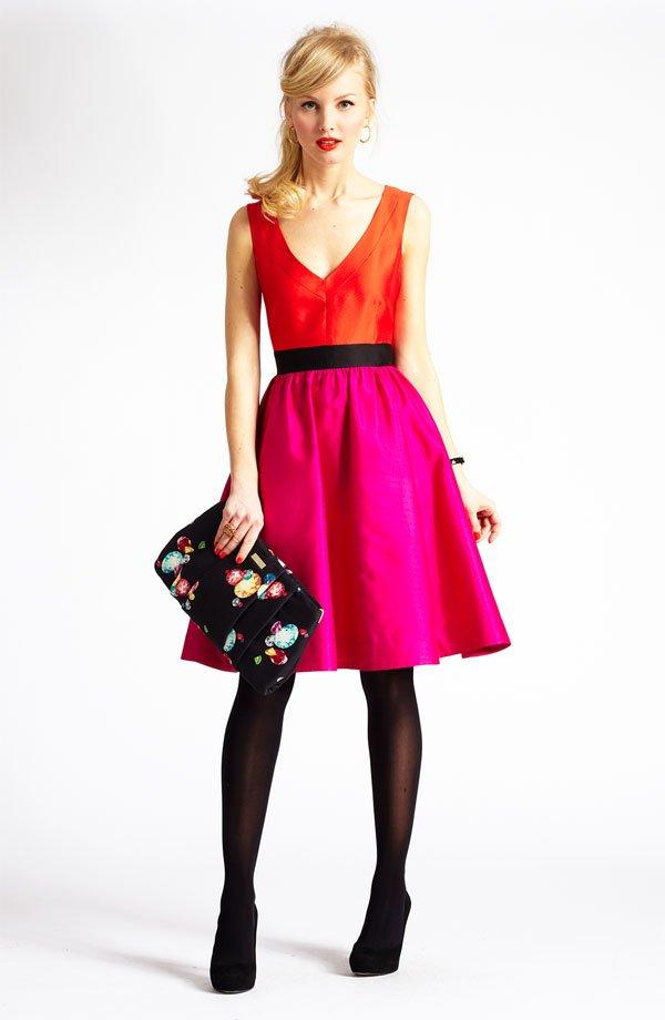 kate spade dress, business casual, kate spade bag