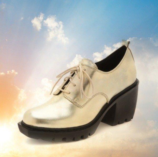 Open Ceremony metallic lug sole shoes, lug sole shoes, Open Ceremony