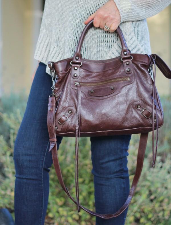 Balenciaga moto bag, lariat bag, cross-body bag, boho style bag,