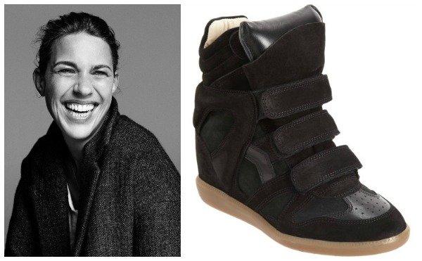 Isabel Marant, wedge sneakers