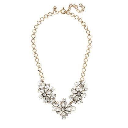 J.Crew Flower Necklace, statement neckace