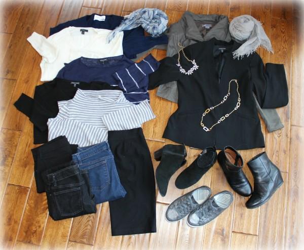 France travel wardrobe 1