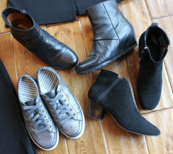 France travel wardrobe shoes