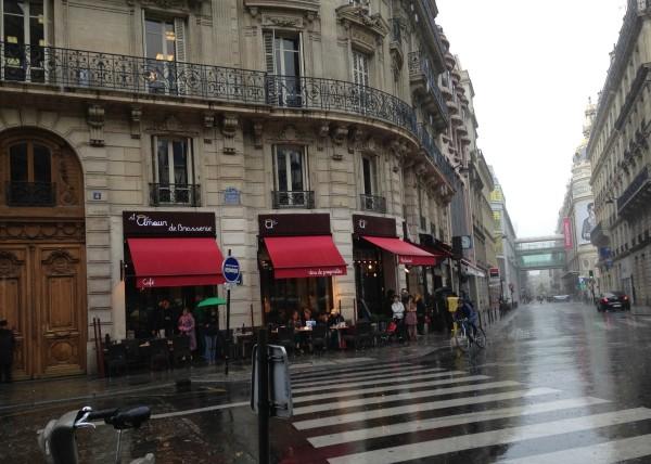 Paris in the rain 1