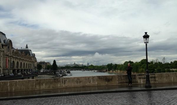 Paris in the rain 3