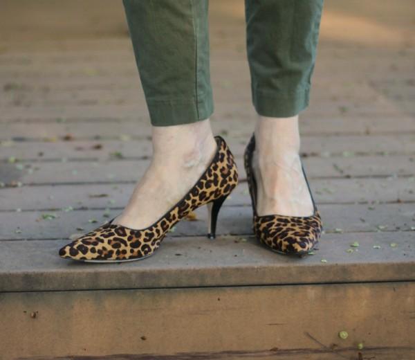 Cole Haan Bradshaw pump leopard