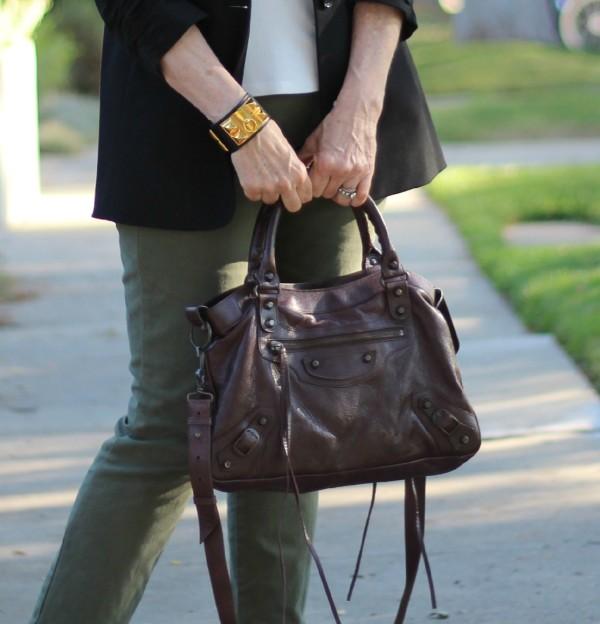 Hermès Collier de Chien, Balenciaga bag
