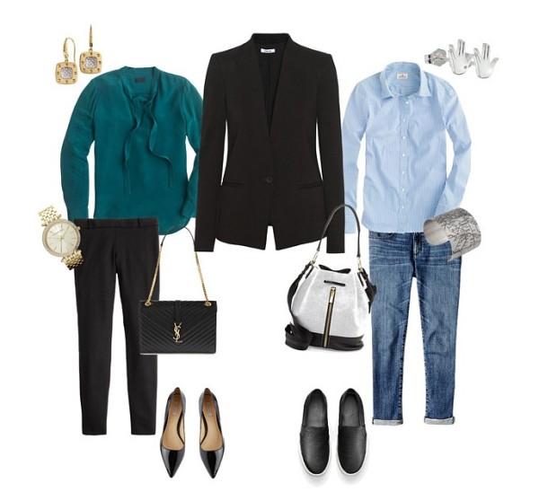 versatile black jacket