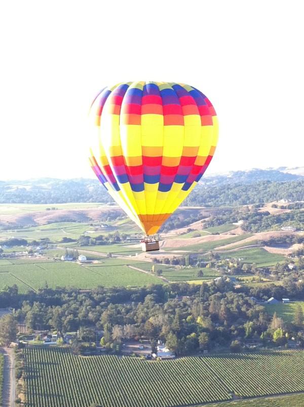 hot air balloon ride Napa Valley