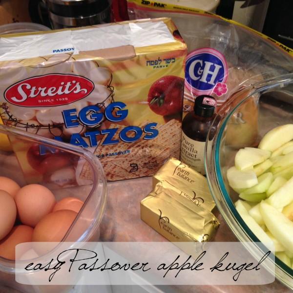 Passover kugel recipe non-dairy