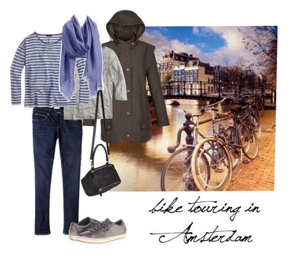 3 week travel wardrobe Amsterdam