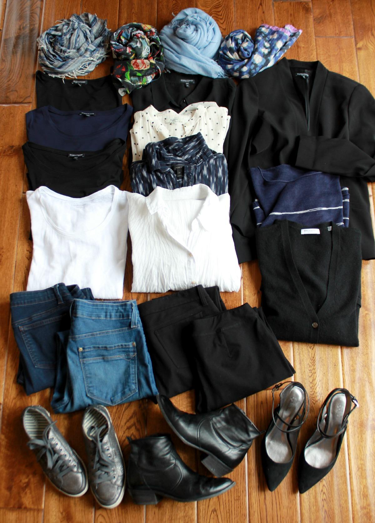 Travel Wardrobe Recap Spring 2015