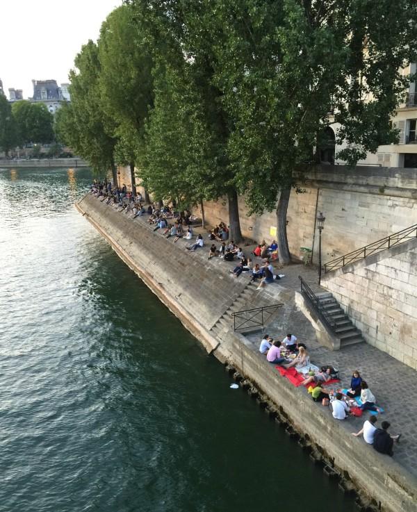 picnic quai Seine
