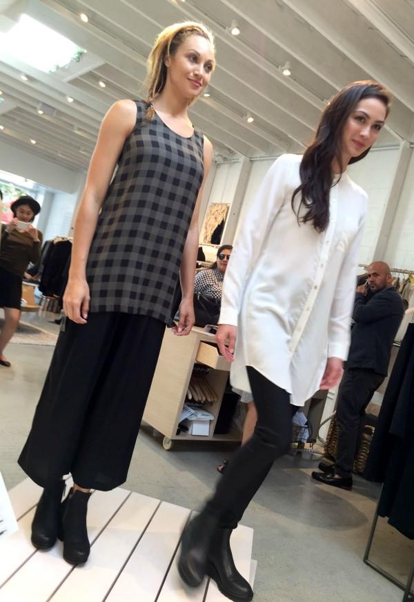 Eileen Fisher fall fashions 2015