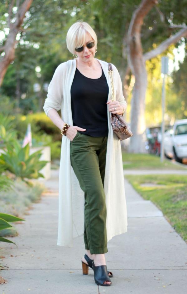 Eileen Fisher maxi cardigan