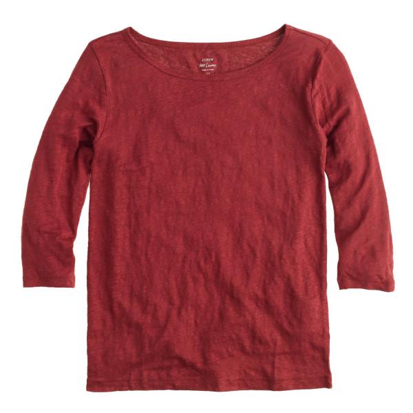 linen jersey tee shirt
