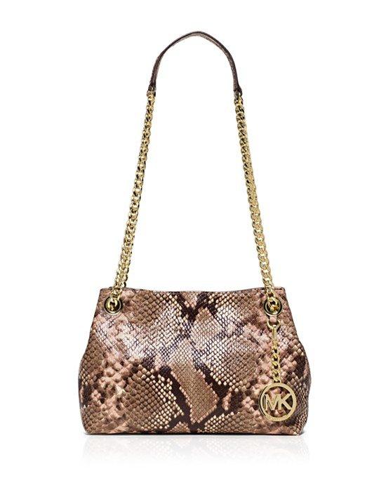 snake chain shoulder bag