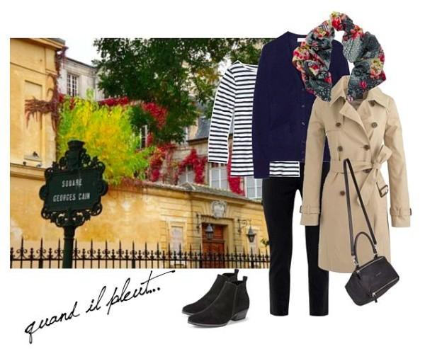 Paris October travel wardrobe