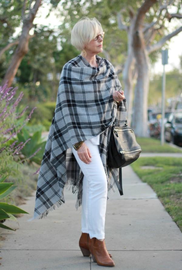 Eileen Fisher wool wrap