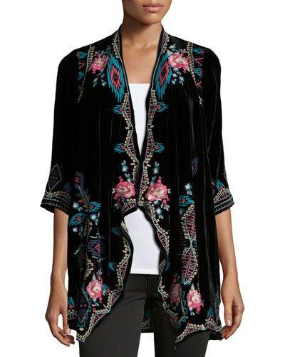 On The Hunt For A Versatile Velvet Jacket