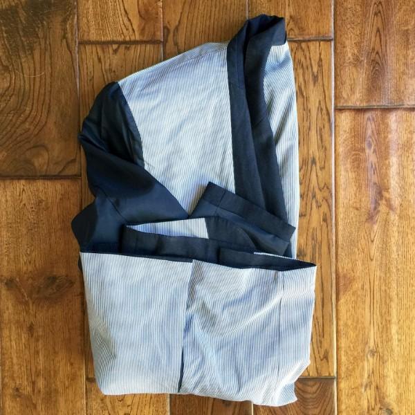 folding jacket for travel