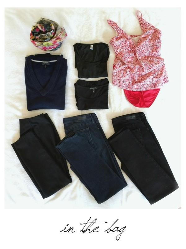 travel wardrobe winter