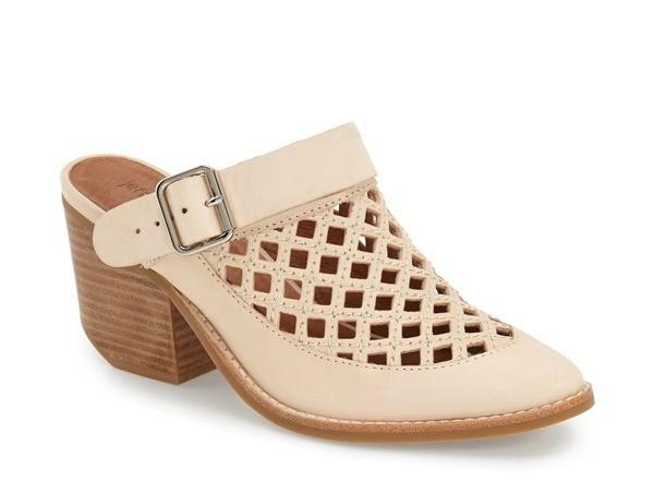 cutout mule shoe