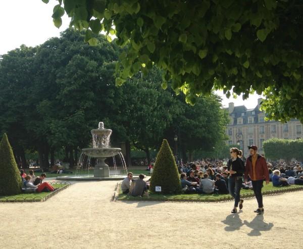 place des Vosges, Marais Paris