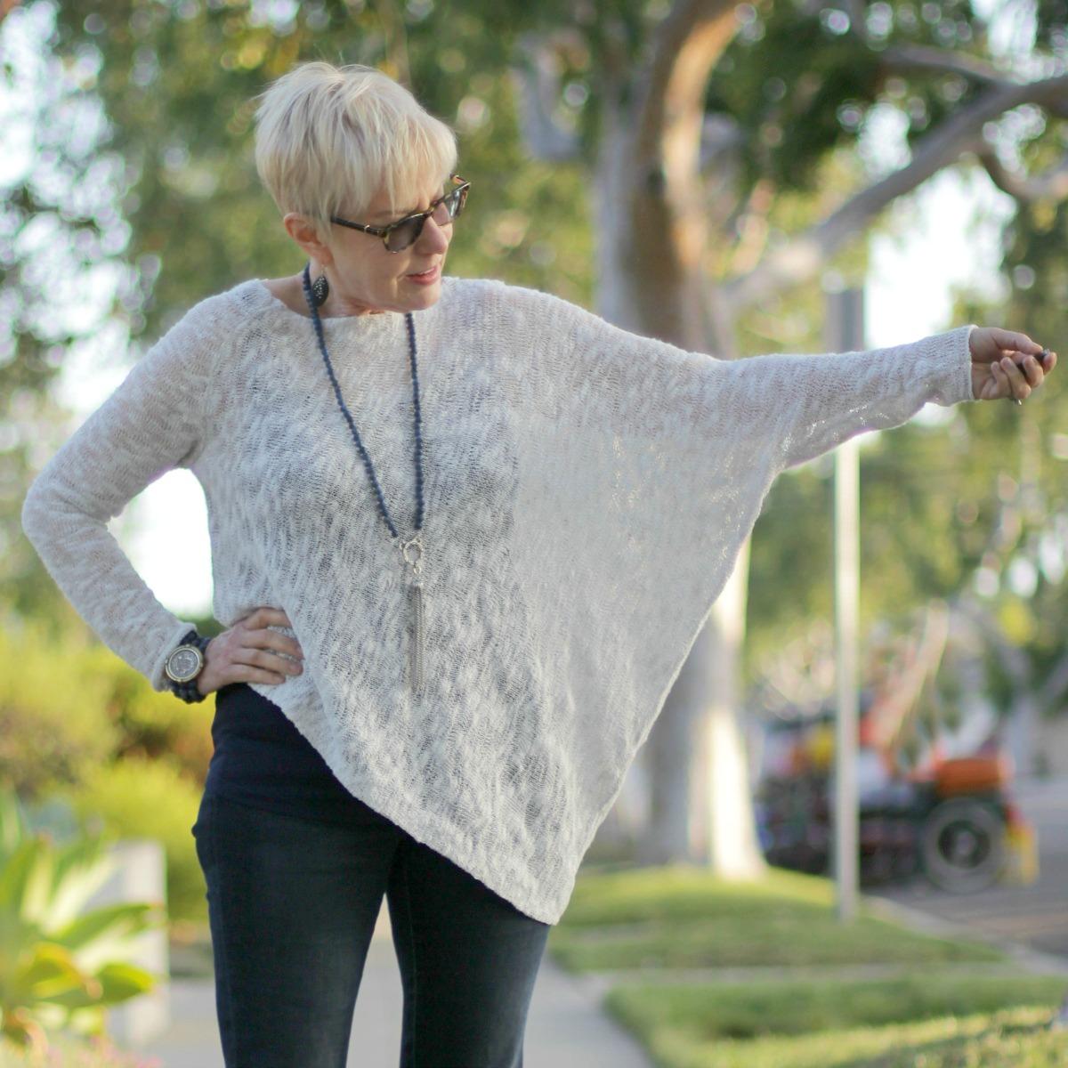 Stella Carakasi asymmetrical sweater