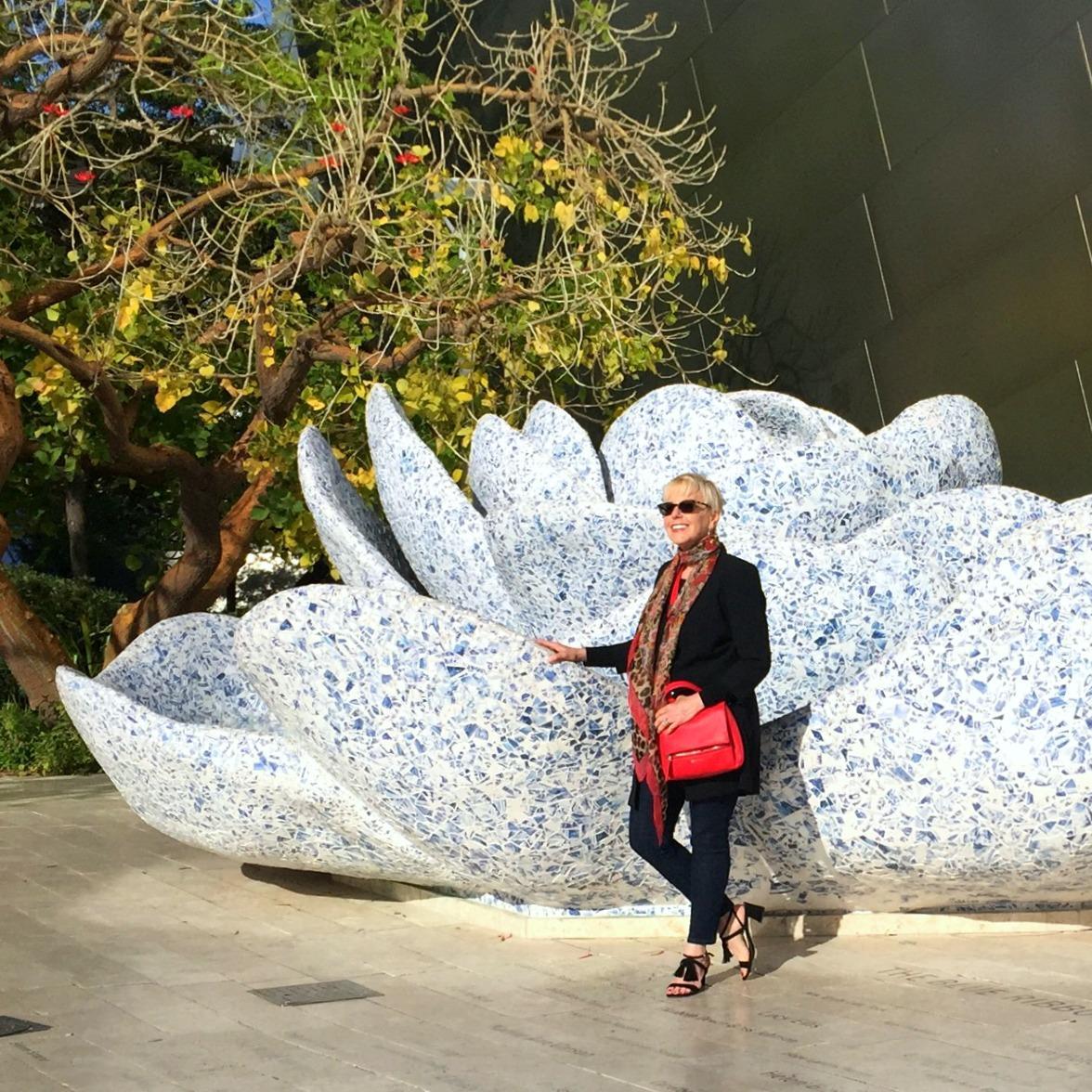 Givenchy Pandora Pure, Stuart Weitzman sandals