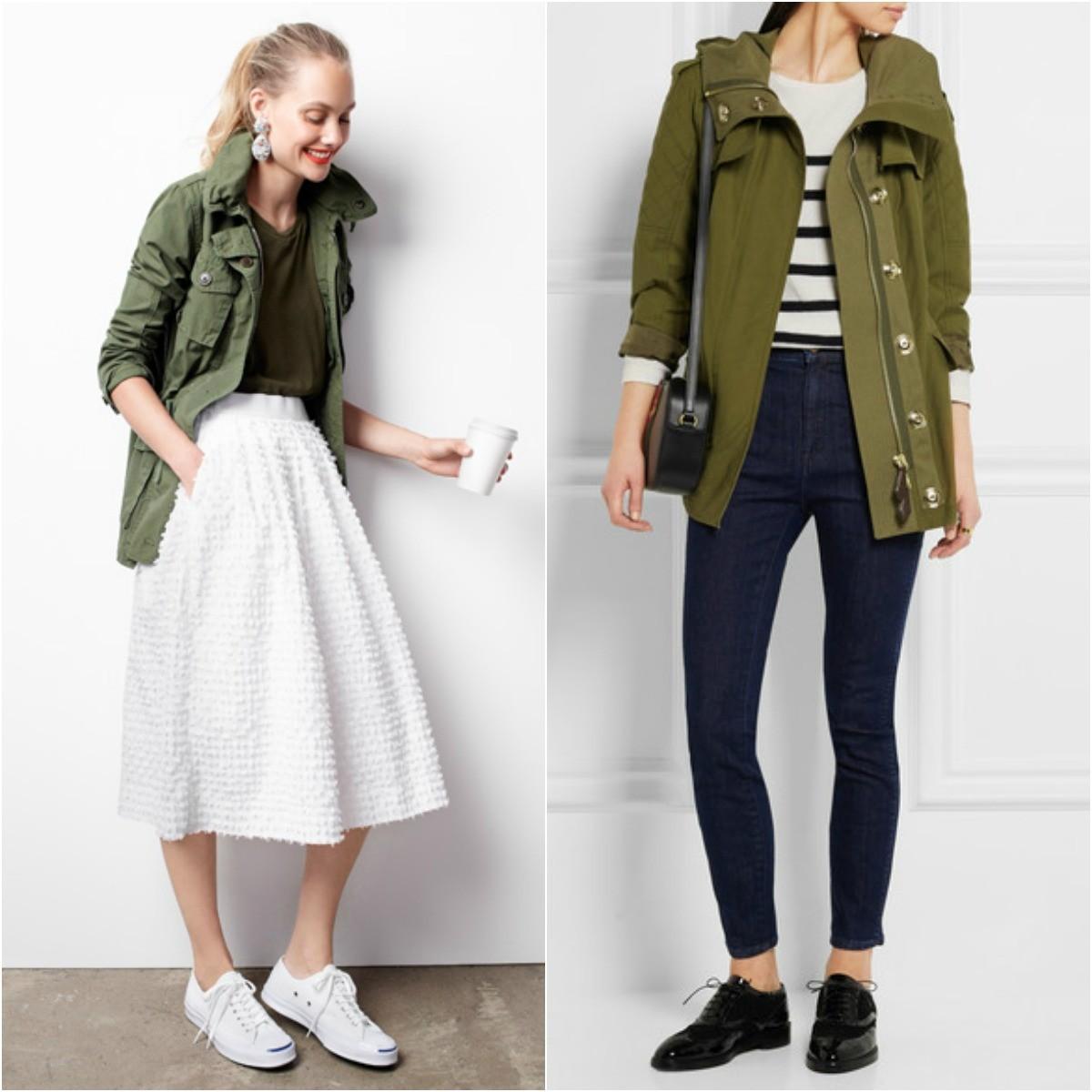 field jacket, utility jacket