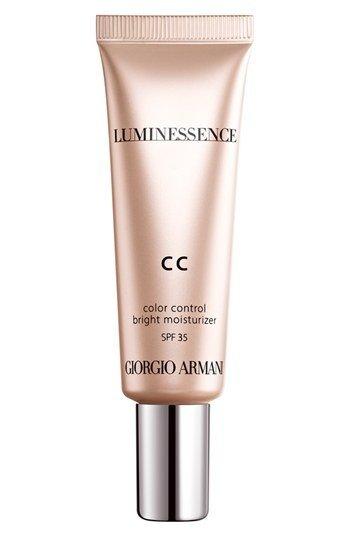 Giorgio Armani Luminessence CC moisturizer