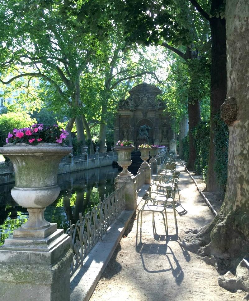 Medicis fountain in Jardin du Luxembourg