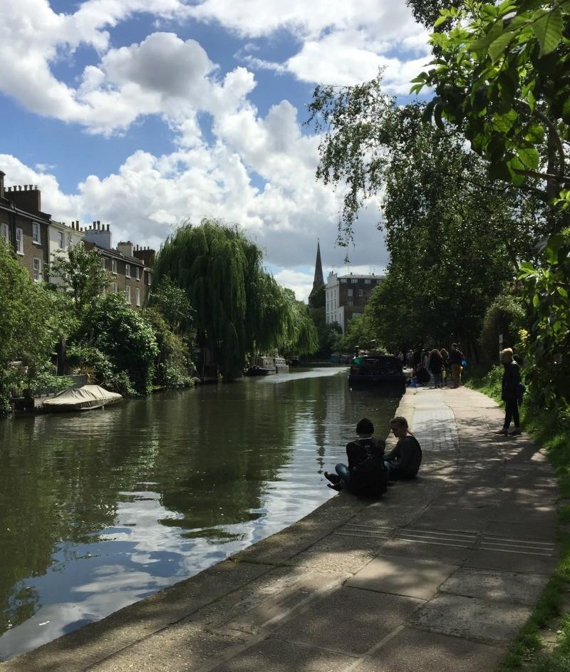 strolling Regent's Canal London