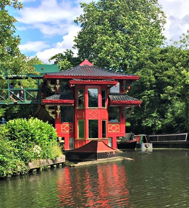 pagoda Regent's Canal London