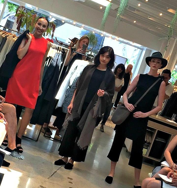 Eileen Fisher fall 2016 fashion show