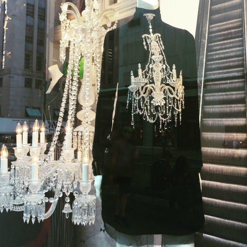 window display Bergdorf-Goodman
