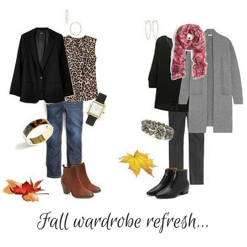 fall wardrobe refresh, updating your basics