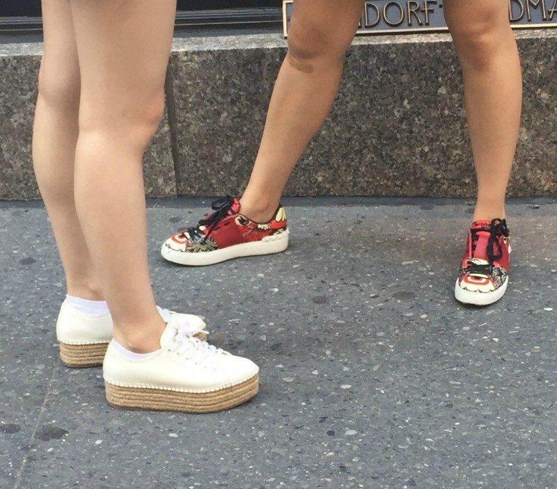 fashion forward sneakers