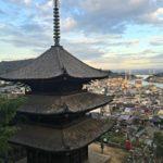 pagoda, temple walk Onomichi Japan