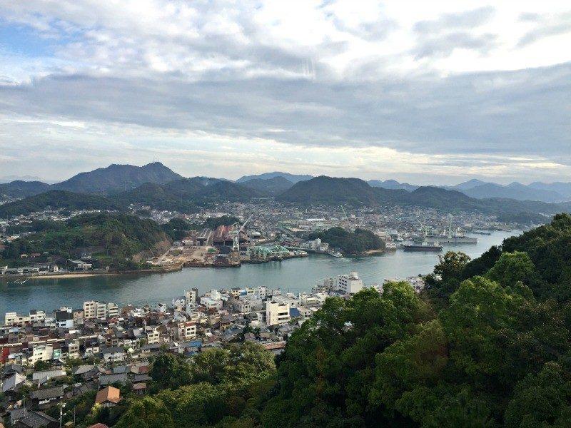 overlooking Onomichi Japan