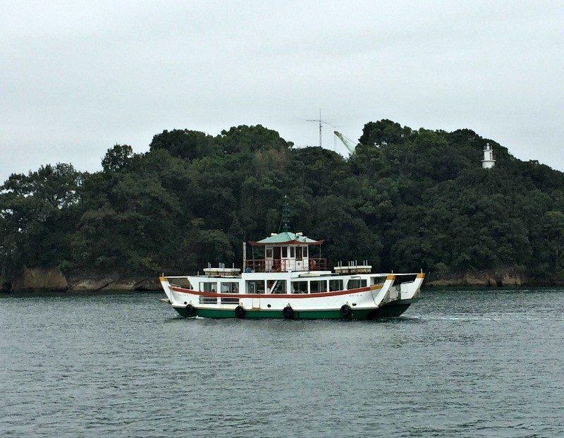 ferryboat in Onomichi Japan