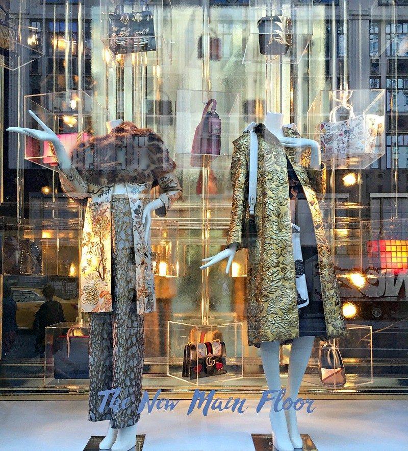 5th avenue window Bergdorfs