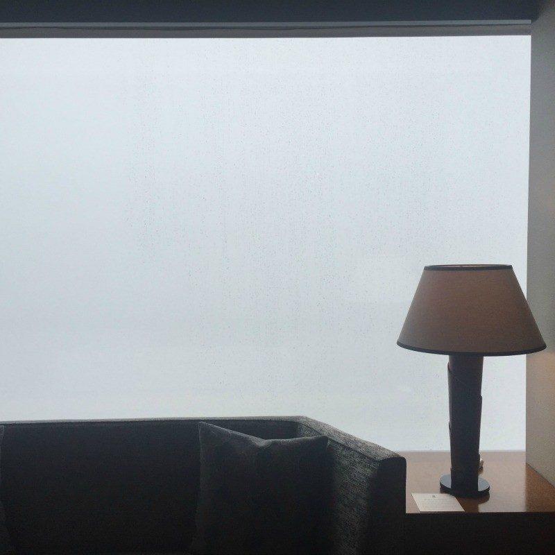 foggy outside