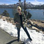 snow in October, high Sierras