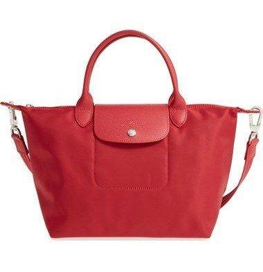 Longchamp nylon bag with crossbody strap