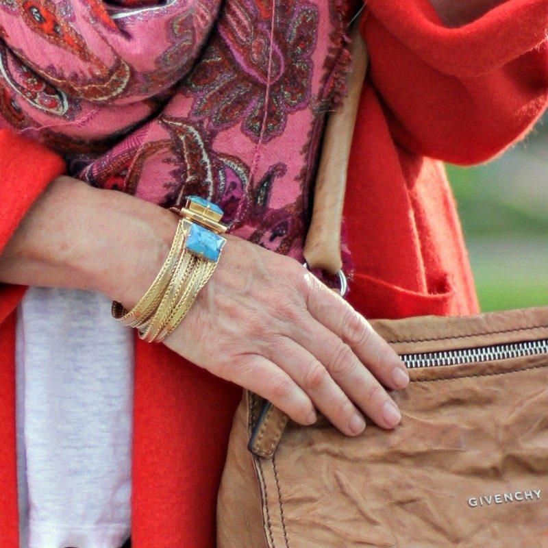 Julie Vos bracelet, Givenchy Pandora