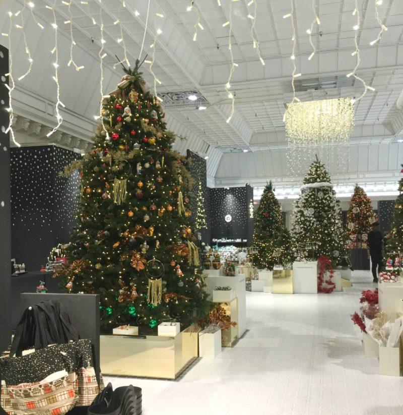 le Bon Marche Christmas trees