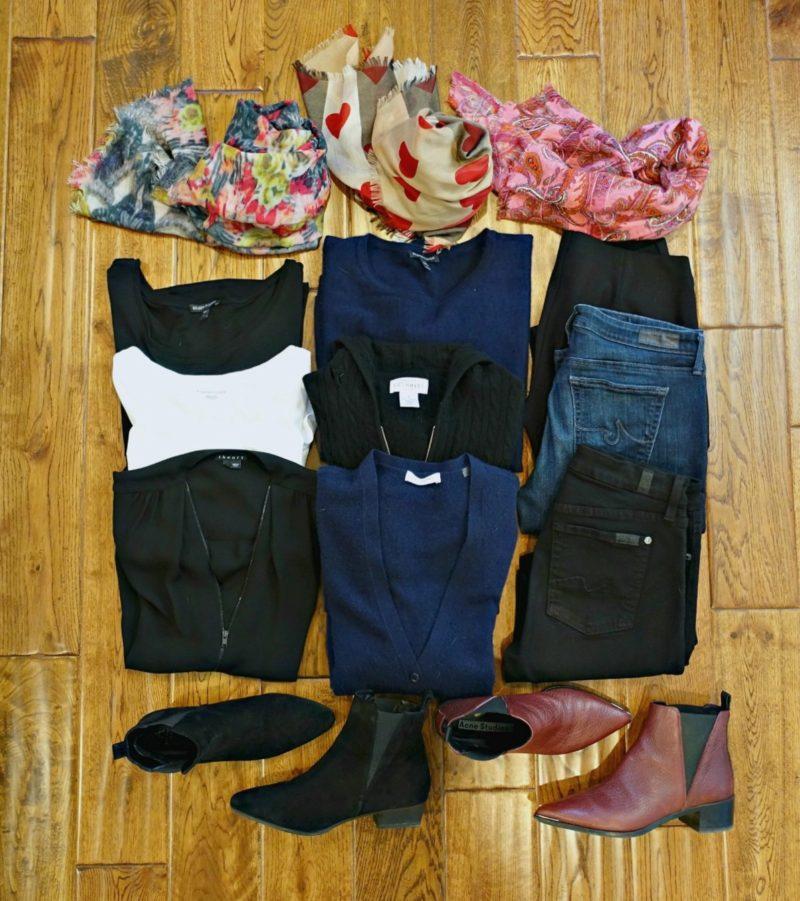 Paris travel wardrobe for Winter