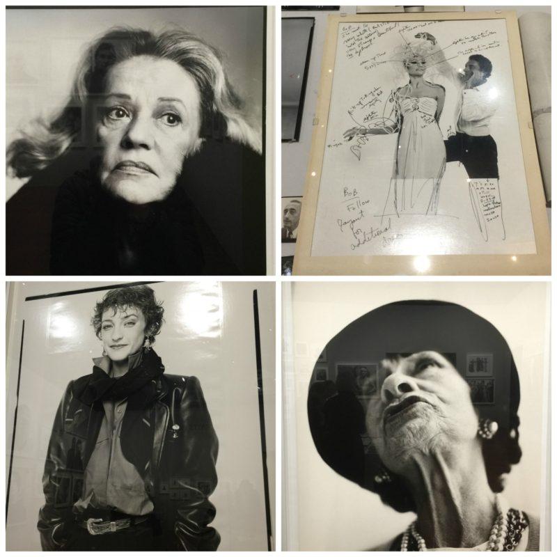 Avedon portraits: Jeanne Moreau, Loulou de la Falaise, Coco Chanel